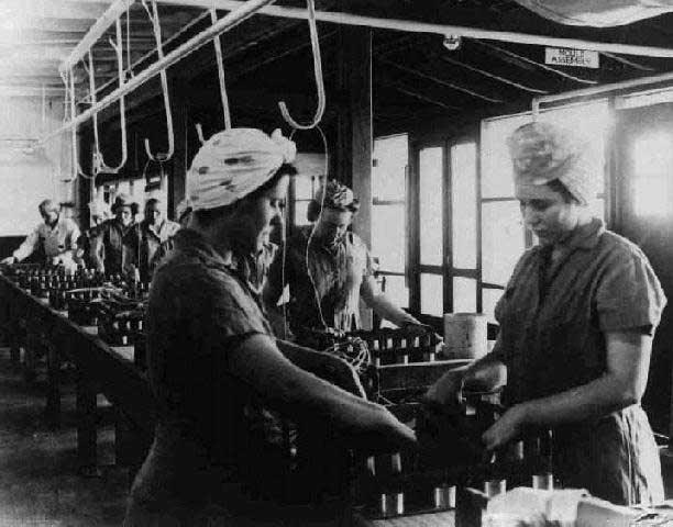 world war ii workers redstone arsenal